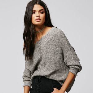 Free People Alana Off Shoulder Pullover
